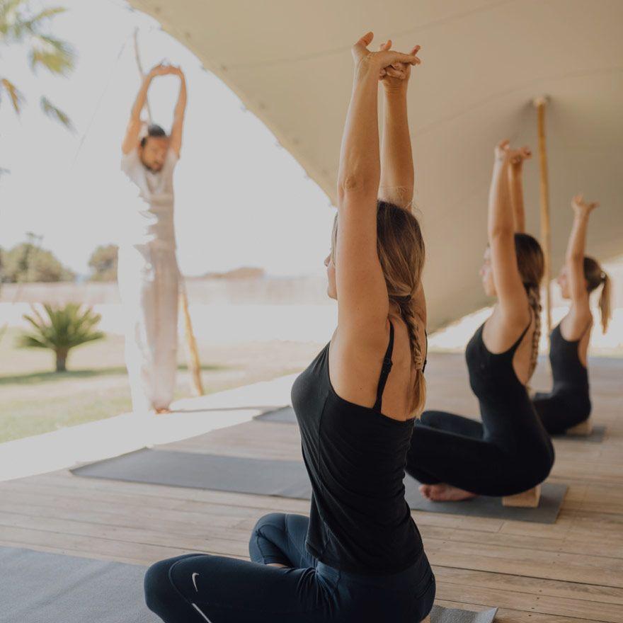 Yoga retreats at Gecko Hotel & Beach Club, Formentera.